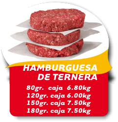HAMBURGER TERNERA